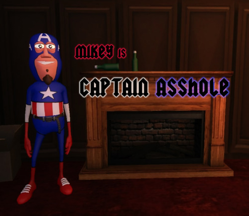 Mikey is Captain Asshole, the First Asshole. Everything special about him came out of a bottle, two tall cans, and a pony keg.  Help us assemble the Assholes by subscribing to our YouTube channel! http://www.youtube.com/ghosthouse Like our Facebook page while your at it! https://www.facebook.com/ghosthousecartoon