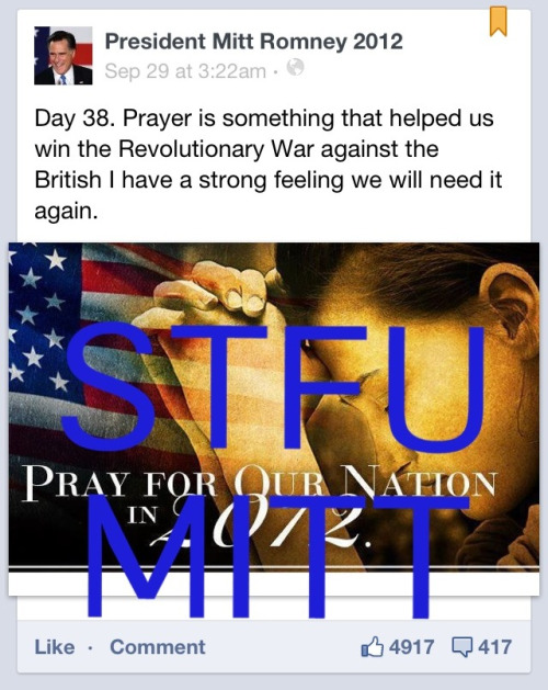 yeaah-dude:  Oh wow I didn't realize prayer helped in ending the revolutionary war wow I always thought it was silly things like all the battles and France helping us out