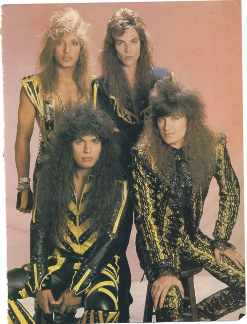 "Stryper ""To Hell With Flat Hair"""
