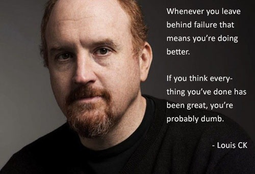 I love Louis CK, he's no George Carlin, but he'll do in a pinch…..