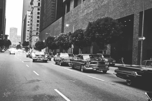 williet:  Mr Cartoon Lifestyle Car Club Rolling Deep in Downtown Los Angeles