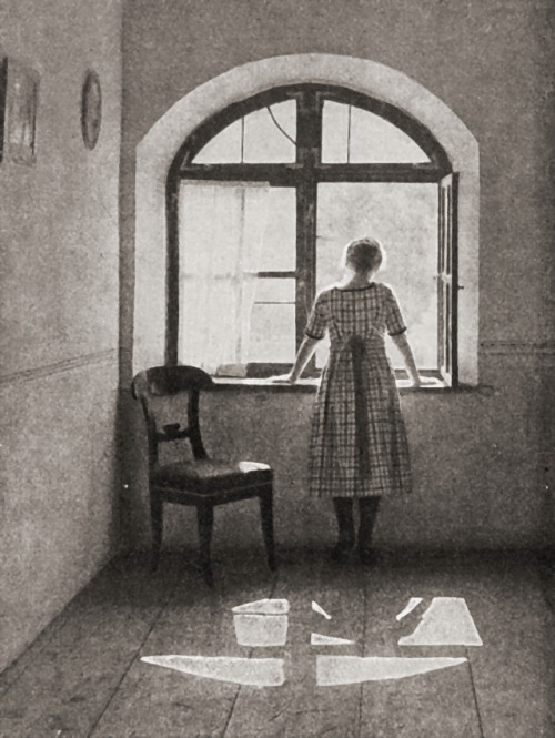 Am Fenster, 1922 by Hans Kammerer