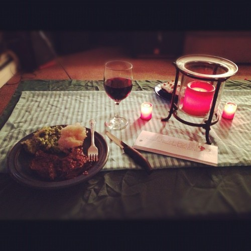 Birthday dinner for mah babe.  (Taken with Instagram)