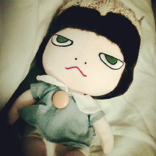 Nara doll (Taken with Instagram)