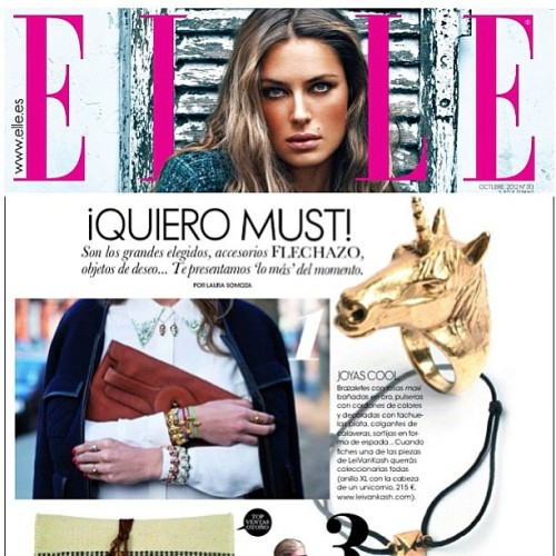 #leivankash featured in #elle  magazine Spain #unicorn ring  #singapore #instagood #tweegram #photooftheday #iphonesia #instamood #igers #picoftheday #iphoneonly #instagramhub #instadaily #jj #bestoftheday #igdaily #webstagram #picstitch #nofilter #instagramers #brunika #instamood #igsg #sgig #hideandseeksg #instawow  (Taken with Instagram at Hide & Seek)