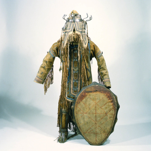 Shaman's Costume Nvikh The Peter the Great Museum of Anthropology and Ethnography