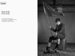 """Rise"" photographed by Niels Bruchmann at MODO magazine"