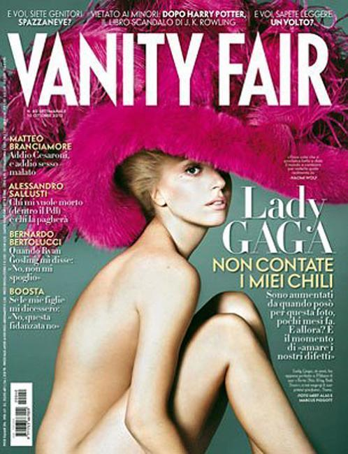 coverjunkie:  Vanity Fair (Italy) Lady Gaga stars new cover Italian Vanity Fair