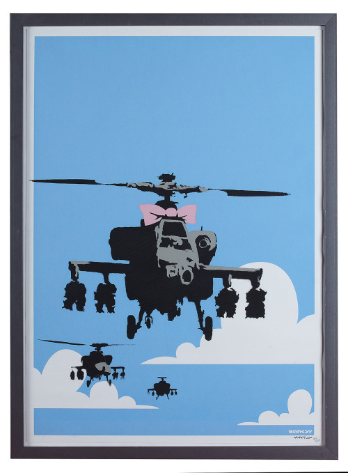 Happy Chopper, Banksy, 2003