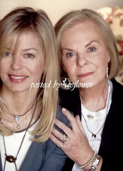 The Duchess Of Kent and Lady Helen Taylor
