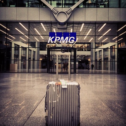 #KPMG headquarter #FRA. No we talking numbers!