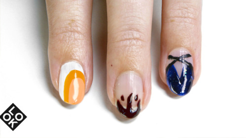 NEW YORK FASHION WEEK NAIL ART: DVF, JASON WU AND PRABAL GURUNGby Look TV http://bit.ly/QJbPHg