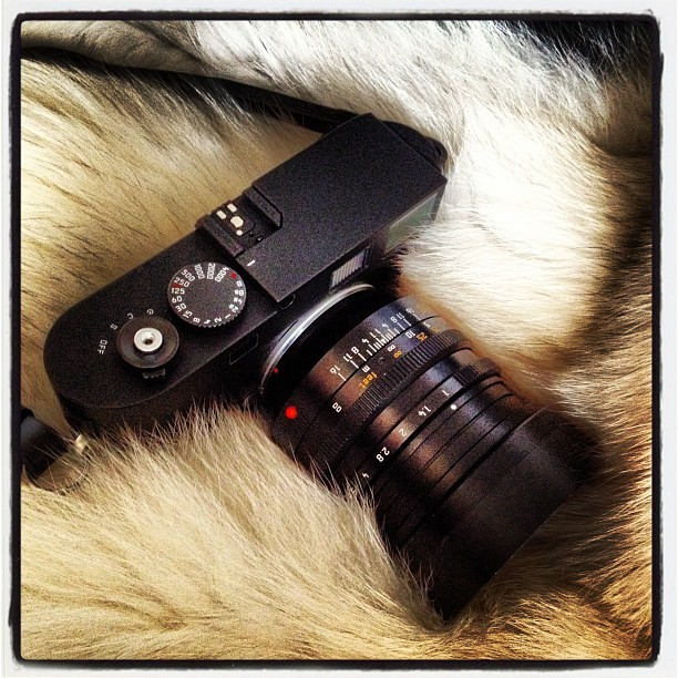 #thorstenovergaard #leica #mm #monochrom #fashion #fur #sexy (Taken with Instagram at Villa Nøjsomheden)