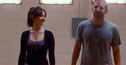 Watch the first clip from The Silver Linings Playbook Bradley Cooper and Jennifer Lawrence share dinner in David O Russell's latest