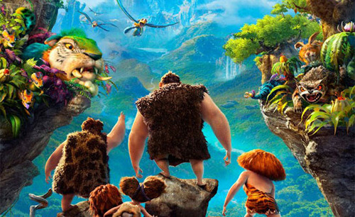 Watch the trailer for new DreamWorks animation The Croods Emma Stone and Nicolas Cage are cave-people