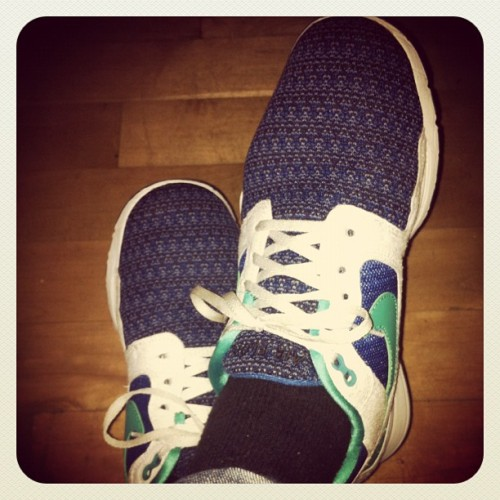 Just thought I'd share the kicks for the day… (Taken with Instagram)