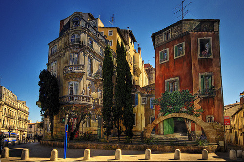| ♔ |  Montpellier Mural  | by ©  Wolfgang Staudt on Flickr