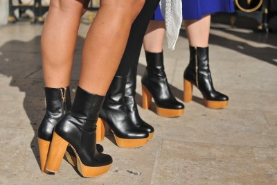 Three makes a trend! Outside Stella McCartney