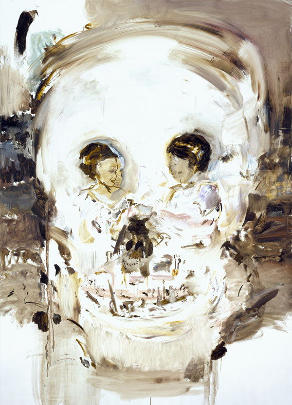 unknowneditors:  Cecily Brown. Aujourd'hui Rose, 2005. Oil on linen, 195,6 x 139,7 cm. © Cecily Brown. Courtesy Gagosian Gallery.