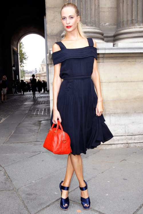 Poppy Delevingne en Louis Vuitton