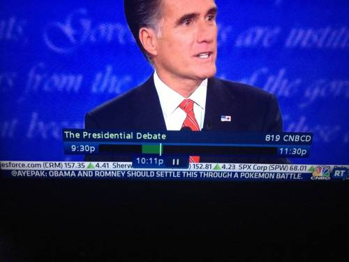 CNBC debate tweets: doing it right. - Imgur I agree.