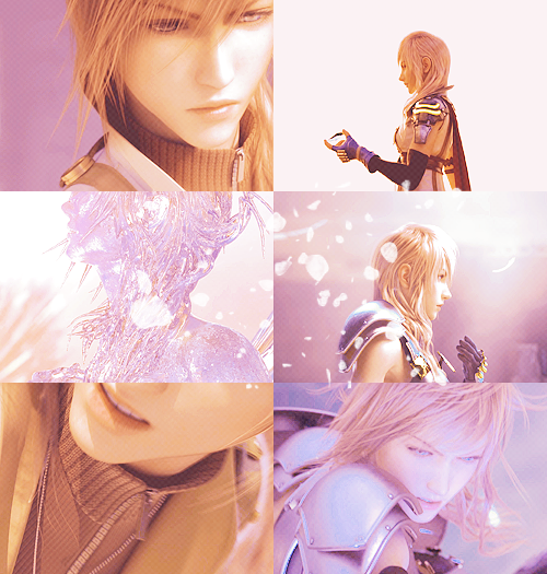 colour meme: lightning farron + pink (and peach because pink is so overdone, man.)   — requested by anonymous