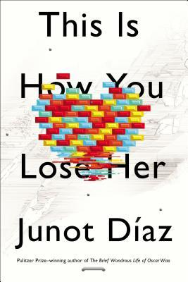 This is How You Lose Her by Junot DiazPublished by Riverhead Books/Penguin USA I read Diaz's last book The Brief Wondrous Life of OscarWao but didn't love it. I think I was the only one who just didn't get it or all of the critical acclaim. I'd also tried to readDrown before that but couldn't get into it and put it down. Having said that, I've always said that I would try Diaz again—I was sure there was something there but for whatever reason we just hadn't connectedyet. This newest book was part of a BookExpo America eBook sampler that I downloaded before the show. I read the Diaz excerpt and liked it. I've been waiting for the book to arrive ever since. I'm hopeful this is the book where Junot Diaz and I fall madly in love.