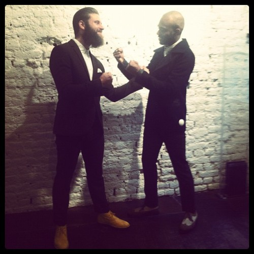 Fisticuffs at Topman General Store Vs. Mr Flyy Campbell