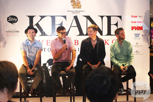 From today's Strangeland Press Conference in Bankok Source: You2Play