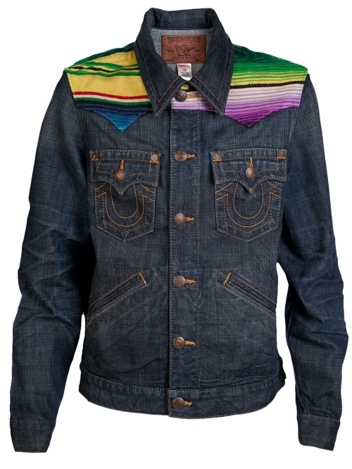 TRUE RELIGION - JOHNNY WESTERN DENIM JACKET    Price : $ 200.00    Oh can you buy me this too please!