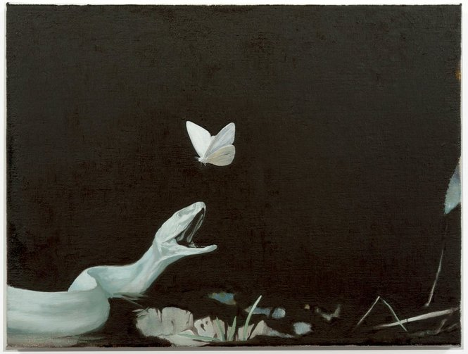 darksilenceinsuburbia:  Glenn Sorensen. Will She, 2011. Oil on canvas, 30 x 40 cm.