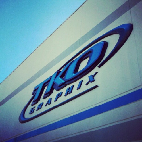 It's a beautiful Thursday outside of TKO!  (Taken with Instagram)