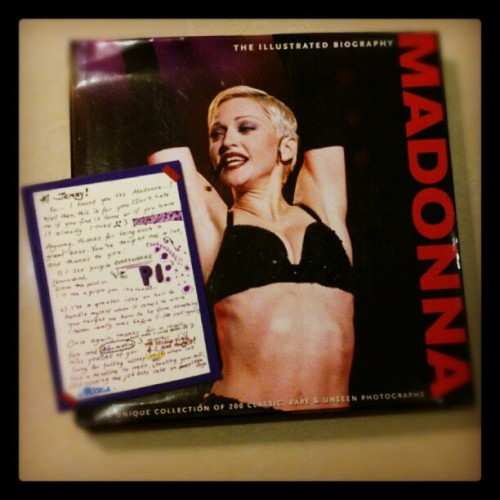 I got this #Madonna surprise from Liza.. Made me scream at the office! Thanks Liza. I L-U-V it!  (Taken with Instagram at Packet Hub L7)