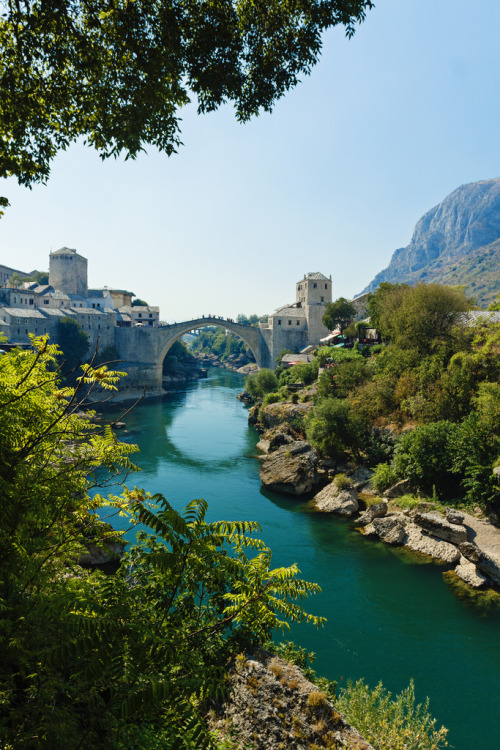 allthingseurope:  Mostar Bridge - Bosnia and Herzegovina (by Piotr Kowalski)