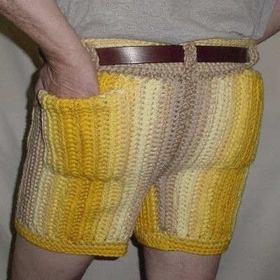 buzzfeed:  29 Absolutely Terrible Craft Ideas… like wool knit shorts, for instance.