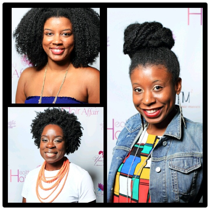 Beautiful ladies in attendance at the Healthy Hair Affair in DC   http://photos.essence.com/galleries/street-style-hair-healthy-hair-affair/?xid=100412