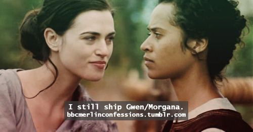 I still ship Gwen/Morgana.