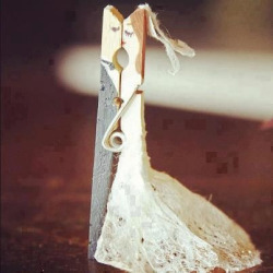 Cute {wedding} clothespin