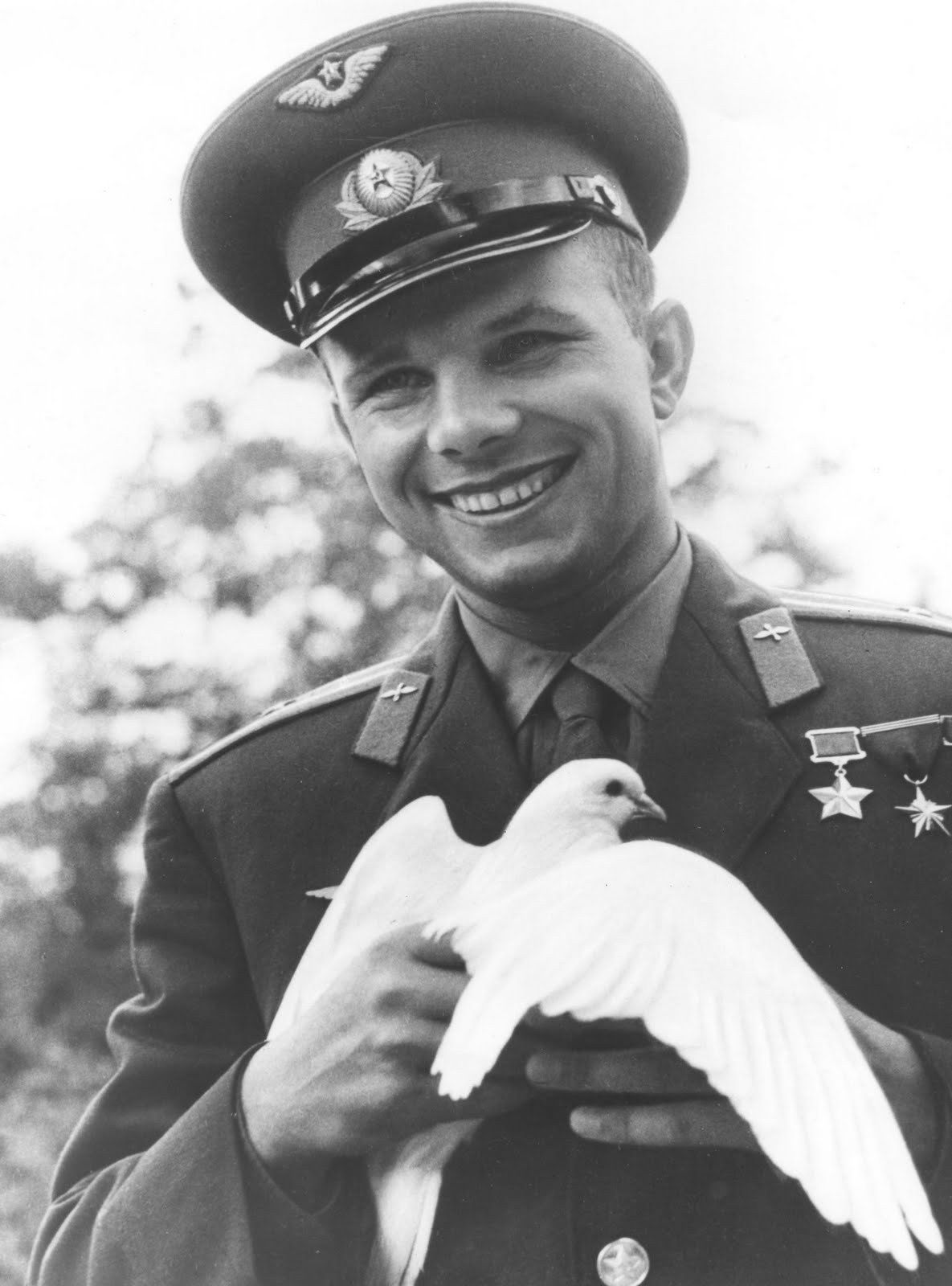 youngmansorrow:  Yuri Gagarin  Could a man be more perfect?