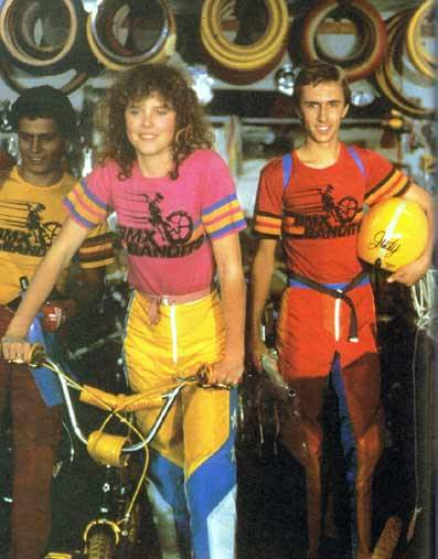 BMX Bandits  (Nicole Kidman's first movie) Australian 80s BMX-ing awesomeness. It's on NetFlix.
