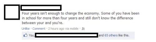 lol-post:  Four years isn't enough. [FB]http://lol-post.tumblr.com/