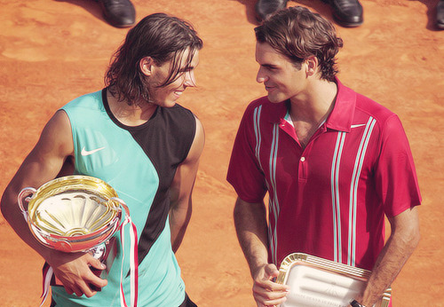 20/60 pictures of Roger Federer and Rafael Nadal
