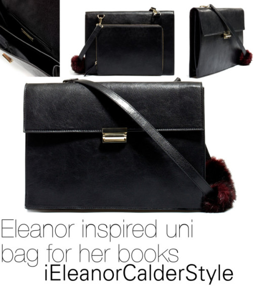 Eleanor inspired uni/school/college bag for her/your books click here to buy the bag