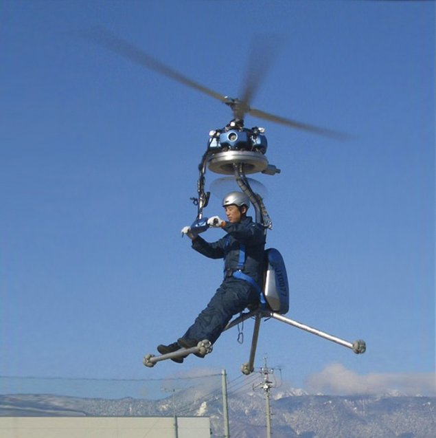 GEN H-4 One-Man Helicopter ¥ 7,500,000.00 +shipping ($NZD 116,002.30)