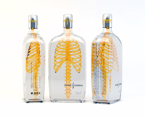 Daily Inspiration - Spine Vodka Packaging Check us out at www.owlrepublic.com