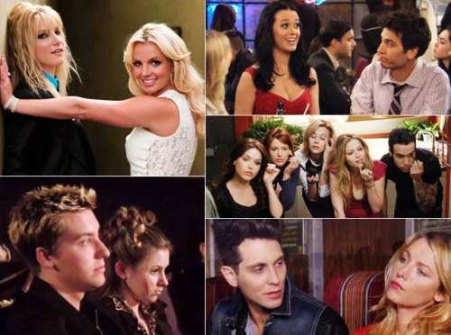 "Britney on ""Glee,"" Katy on ""How I Met Your Mother,"" Pete Wentz on ""One Tree Hill,"" and more. See our list of Music's 15 Worst TV Cameos Ever."