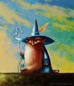 Wizard. art by © 2012 Juan Bauty.