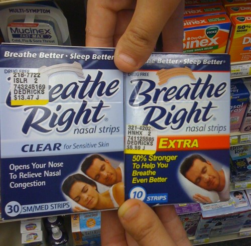 stereolights:  It's like his snoring got so bad that his wife…