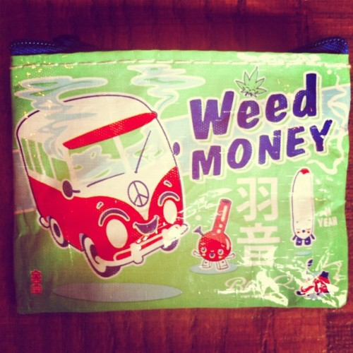 New money holder. #Weed #Money (Taken with Instagram)