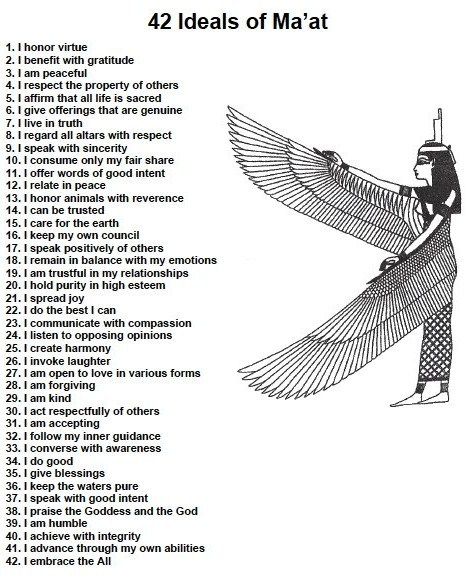 criminallyinnocent:  Laws of Ancient Egypt